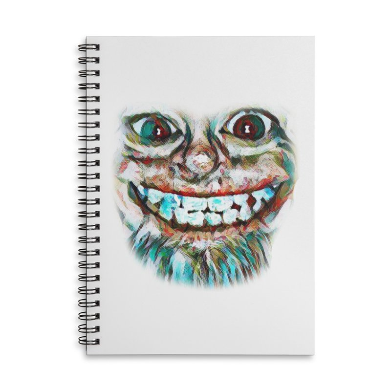 Cheshire Mikey Accessories Lined Spiral Notebook by Comedyrockgeek 's Artist Shop