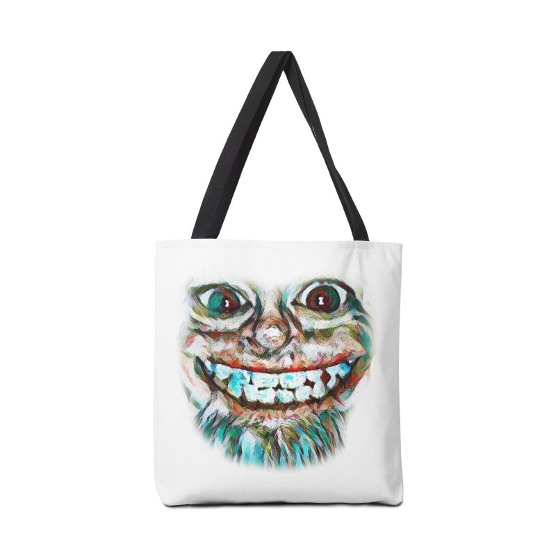 Cheshire Mikey Accessories Bag by Comedyrockgeek 's Artist Shop