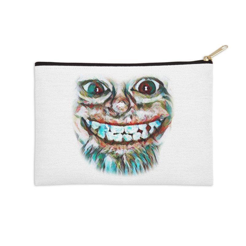 Cheshire Mikey Accessories Zip Pouch by Comedyrockgeek 's Artist Shop