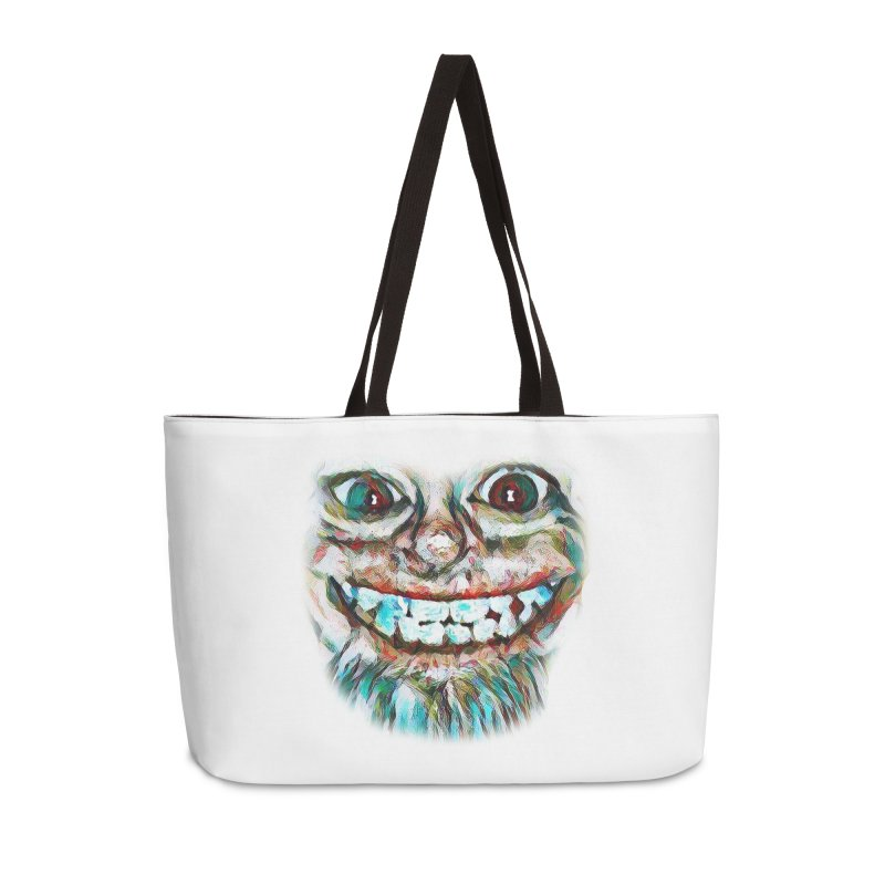 Cheshire Mikey Accessories Weekender Bag Bag by Comedyrockgeek 's Artist Shop