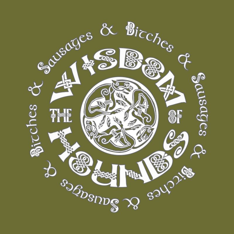 Wisdom of Hounds Women's Tank by Comedyrockgeek 's Artist Shop