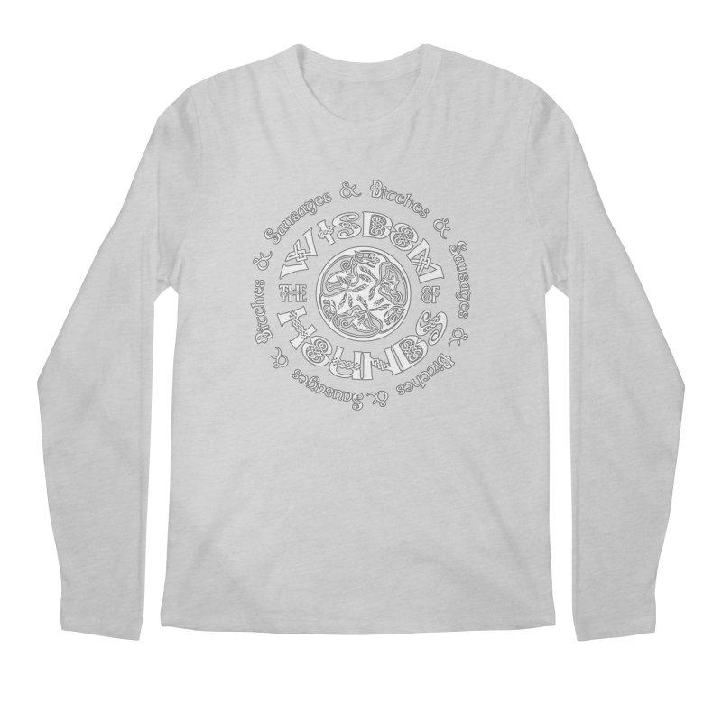Wisdom of Hounds Men's Longsleeve T-Shirt by Comedyrockgeek 's Artist Shop