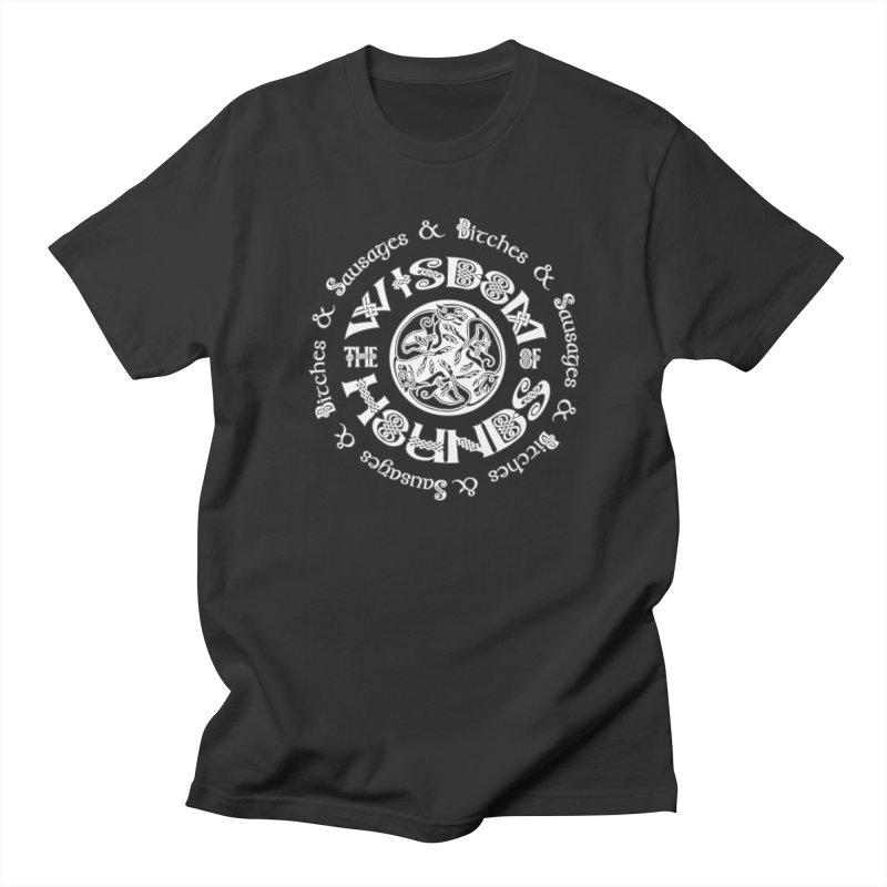 Wisdom of Hounds Women's Regular Unisex T-Shirt by Comedyrockgeek 's Artist Shop