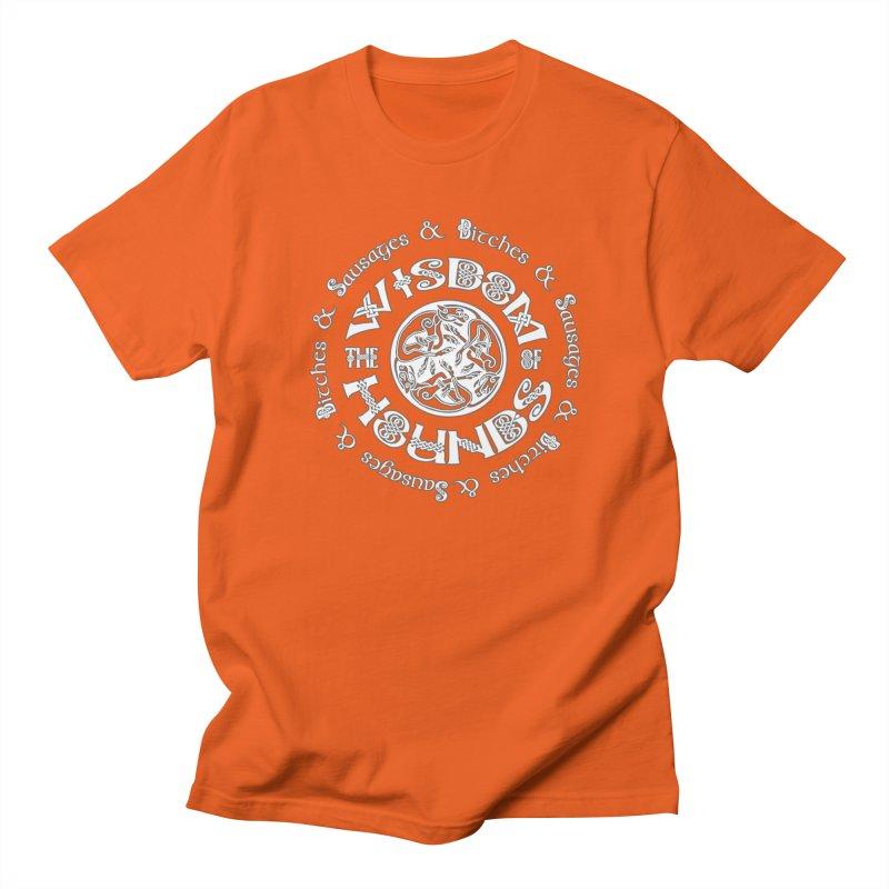 Wisdom of Hounds Men's Regular T-Shirt by Comedyrockgeek 's Artist Shop
