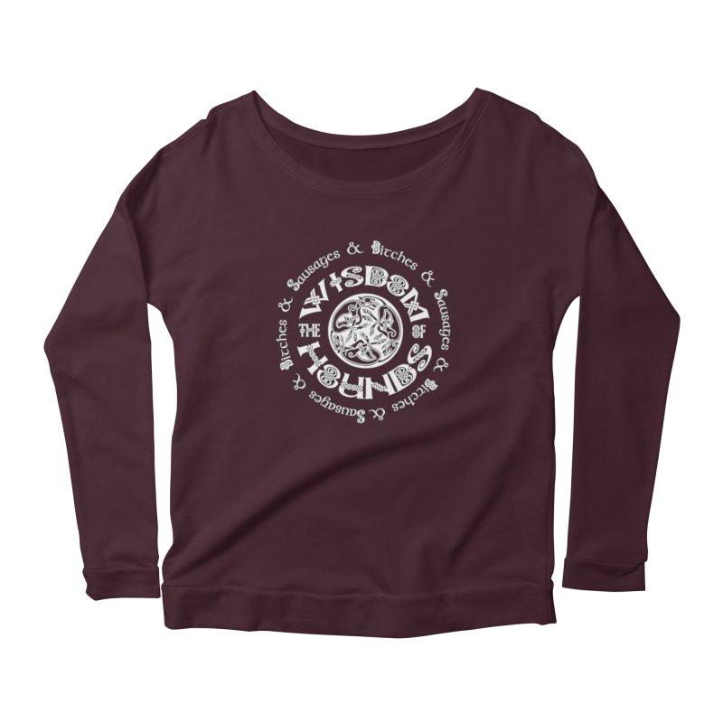 Wisdom of Hounds Women's Longsleeve T-Shirt by Comedyrockgeek 's Artist Shop