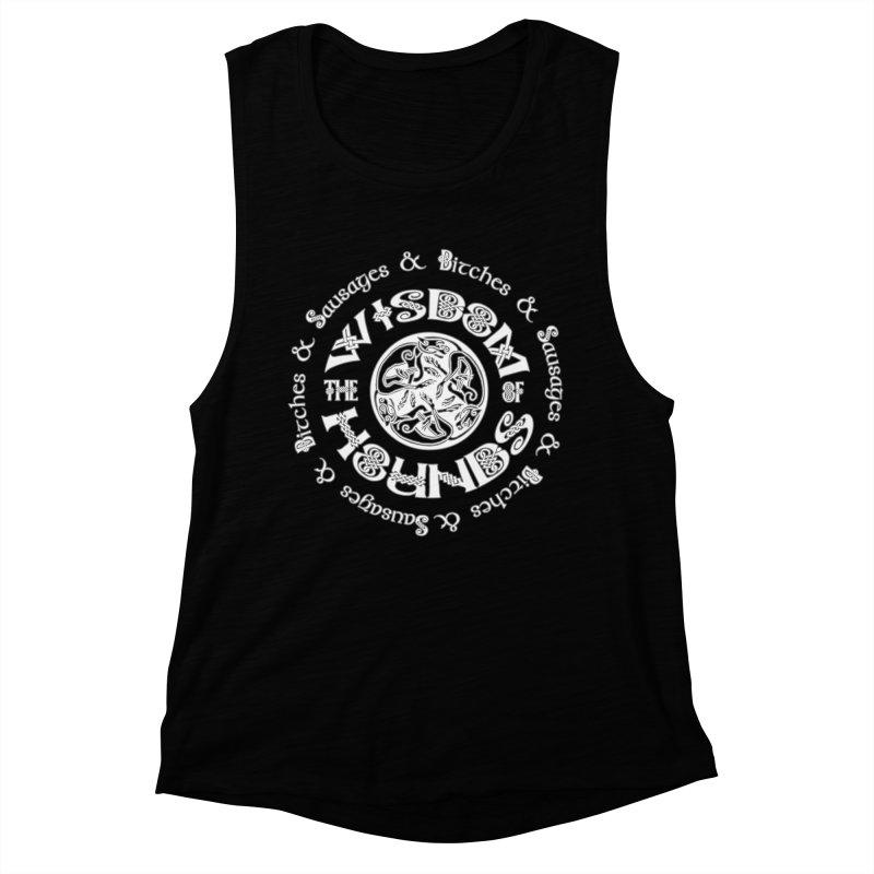 Wisdom of Hounds Women's Muscle Tank by Comedyrockgeek 's Artist Shop