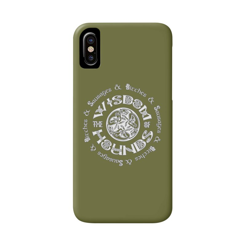 Wisdom of Hounds Accessories Phone Case by Comedyrockgeek 's Artist Shop