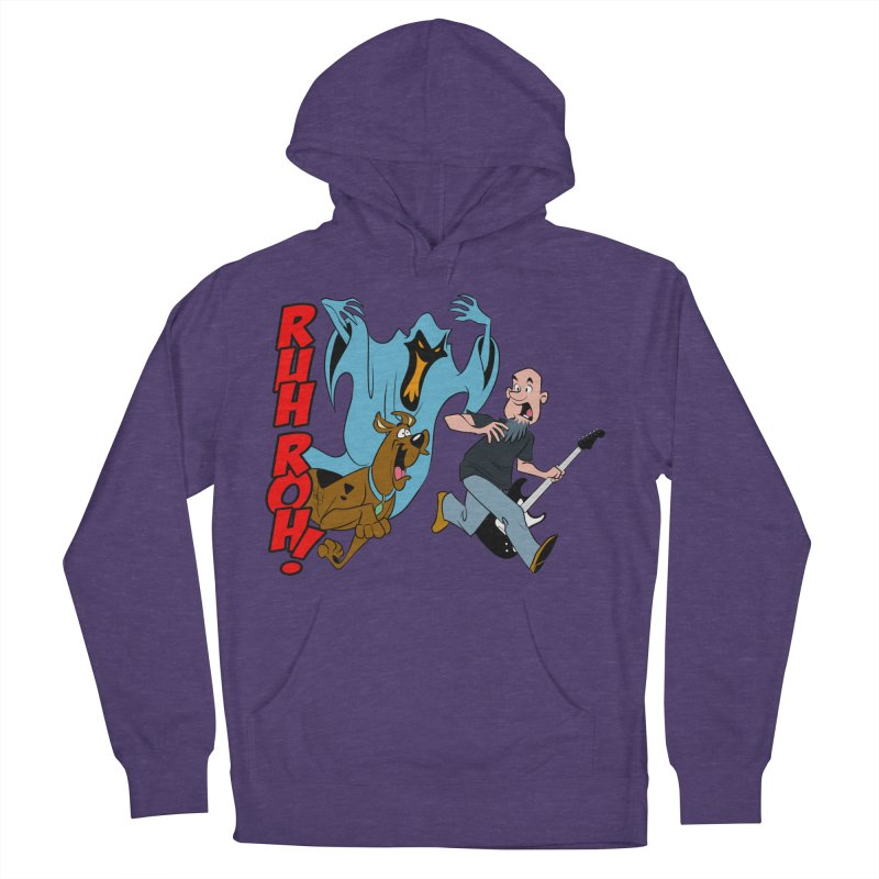 Ruh Roh! Women's French Terry Pullover Hoody by Comedyrockgeek 's Artist Shop
