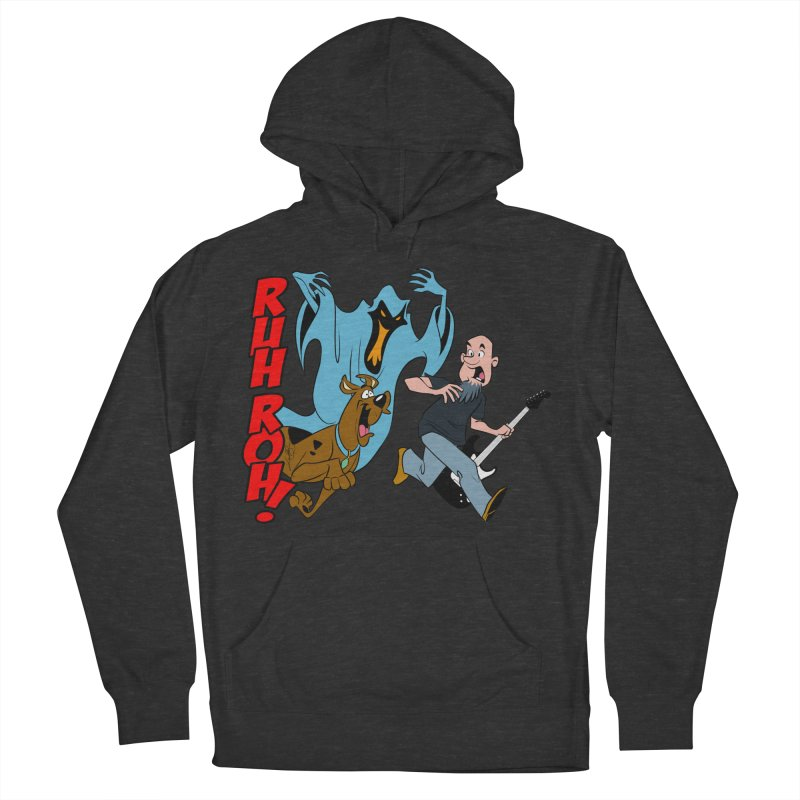 Ruh Roh! Men's French Terry Pullover Hoody by Comedyrockgeek 's Artist Shop