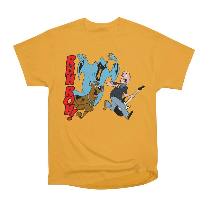 Ruh Roh! Men's Heavyweight T-Shirt by Comedyrockgeek 's Artist Shop