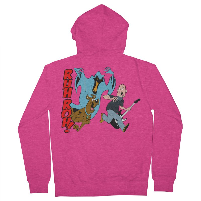 Ruh Roh! Women's French Terry Zip-Up Hoody by Comedyrockgeek 's Artist Shop