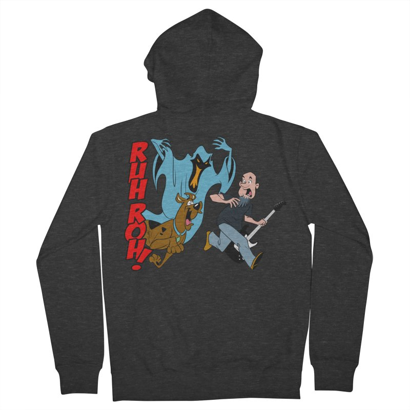 Ruh Roh! Men's French Terry Zip-Up Hoody by Comedyrockgeek 's Artist Shop