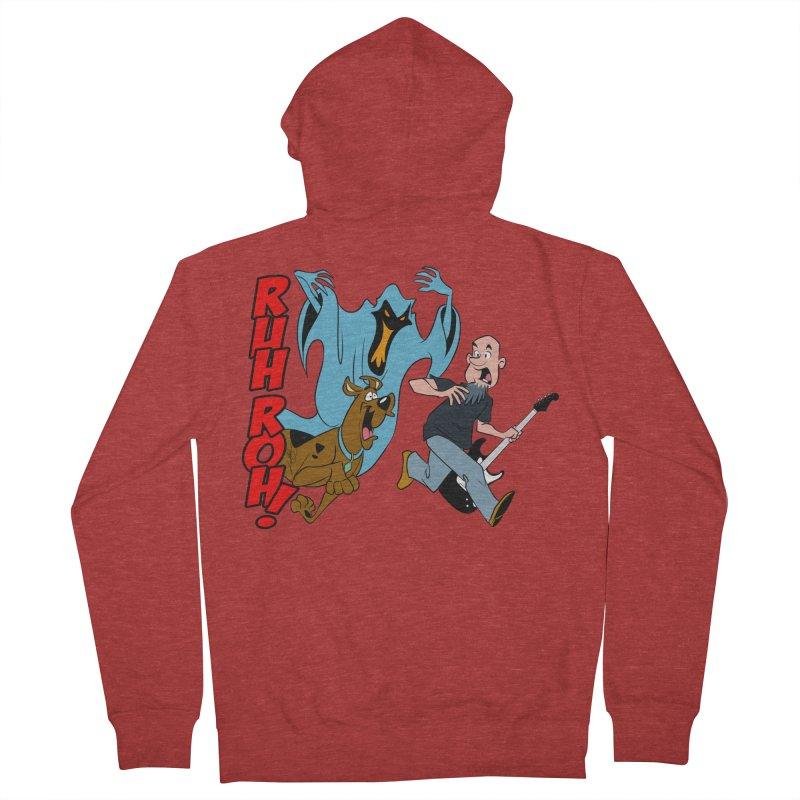 Ruh Roh! Men's French Terry Zip-Up Hoody by Comedyrockgeek 's Artist Shop
