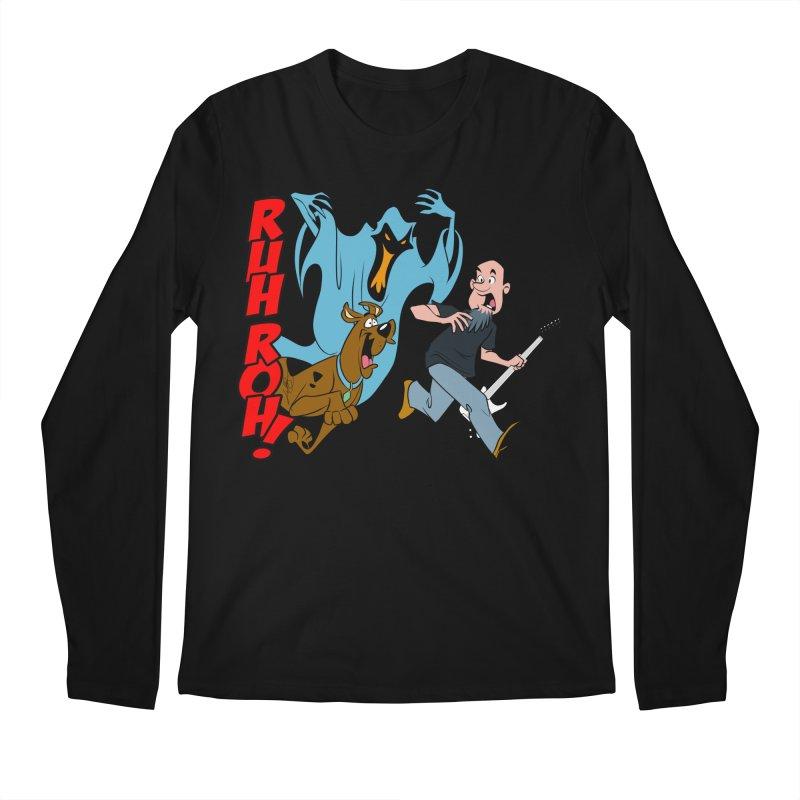 Ruh Roh! Men's Regular Longsleeve T-Shirt by Comedyrockgeek 's Artist Shop