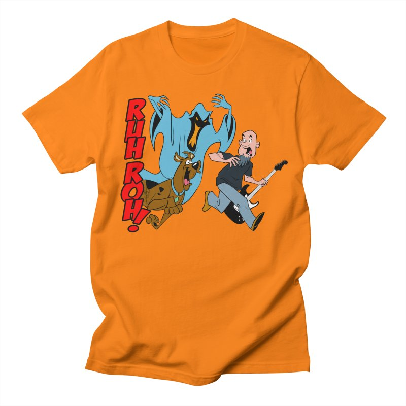 Ruh Roh! Women's Regular Unisex T-Shirt by Comedyrockgeek 's Artist Shop