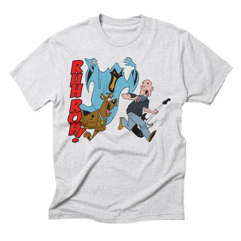 Ruh Roh! Men's Triblend T-Shirt by Comedyrockgeek 's Artist Shop
