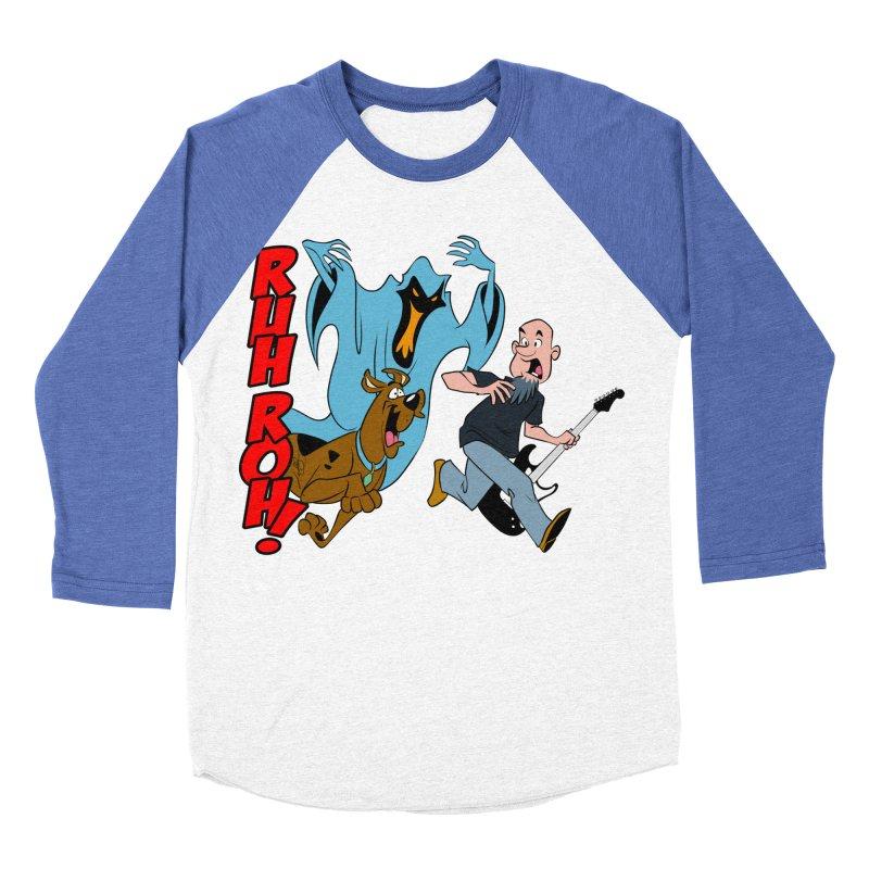 Ruh Roh! Women's Baseball Triblend Longsleeve T-Shirt by Comedyrockgeek 's Artist Shop
