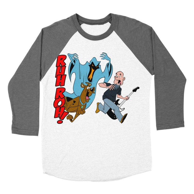 Ruh Roh! Women's Baseball Triblend T-Shirt by Comedyrockgeek 's Artist Shop