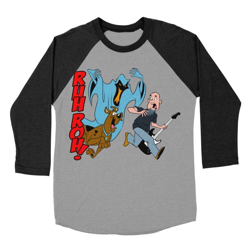 Ruh Roh! Men's Baseball Triblend T-Shirt by Comedyrockgeek 's Artist Shop