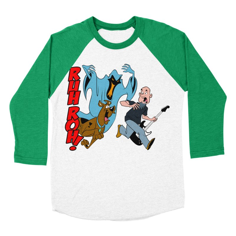 Ruh Roh! Men's Baseball Triblend Longsleeve T-Shirt by Comedyrockgeek 's Artist Shop