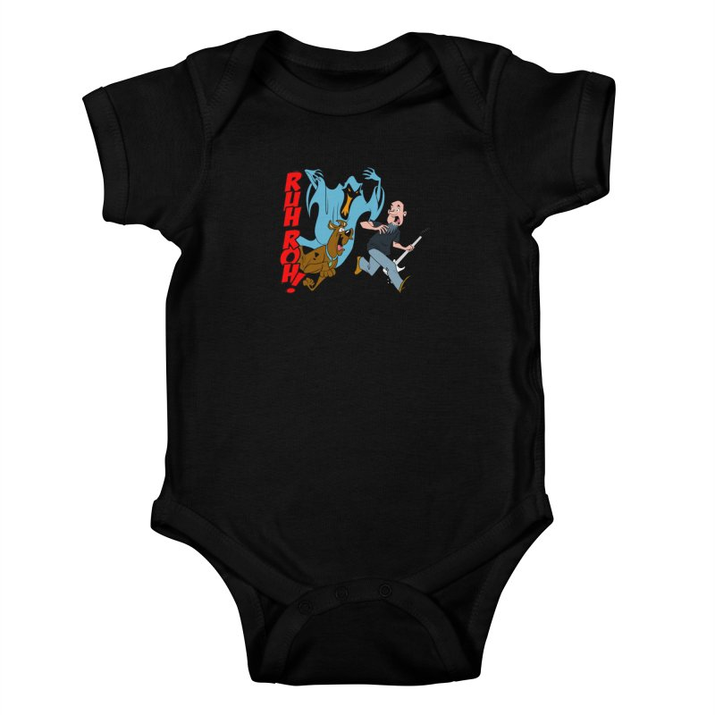 Ruh Roh! Kids Baby Bodysuit by Comedyrockgeek 's Artist Shop