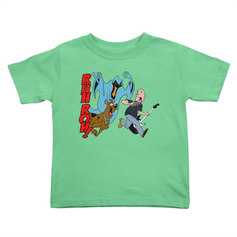 Ruh Roh! Kids Toddler T-Shirt by Comedyrockgeek 's Artist Shop