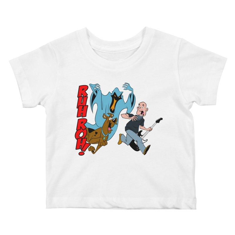 Ruh Roh! Kids Baby T-Shirt by Comedyrockgeek 's Artist Shop