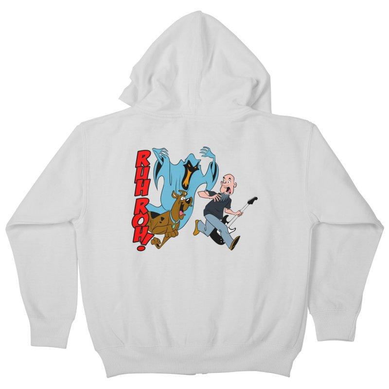 Ruh Roh! Kids Zip-Up Hoody by Comedyrockgeek 's Artist Shop
