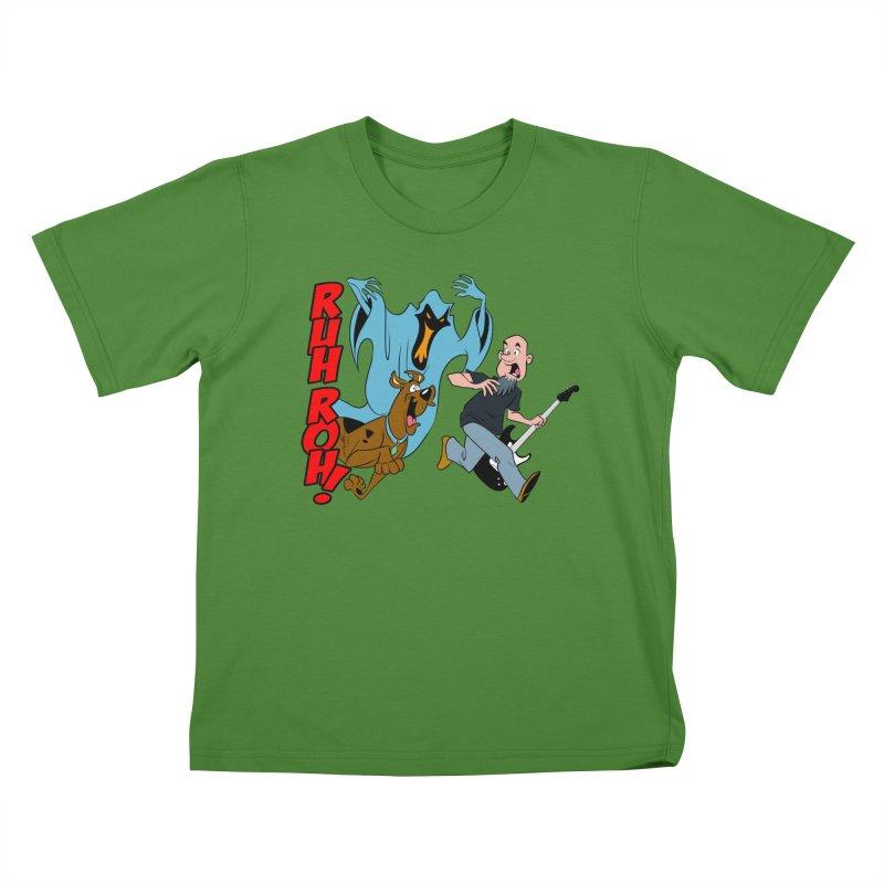 Ruh Roh! Kids T-shirt by Comedyrockgeek 's Artist Shop