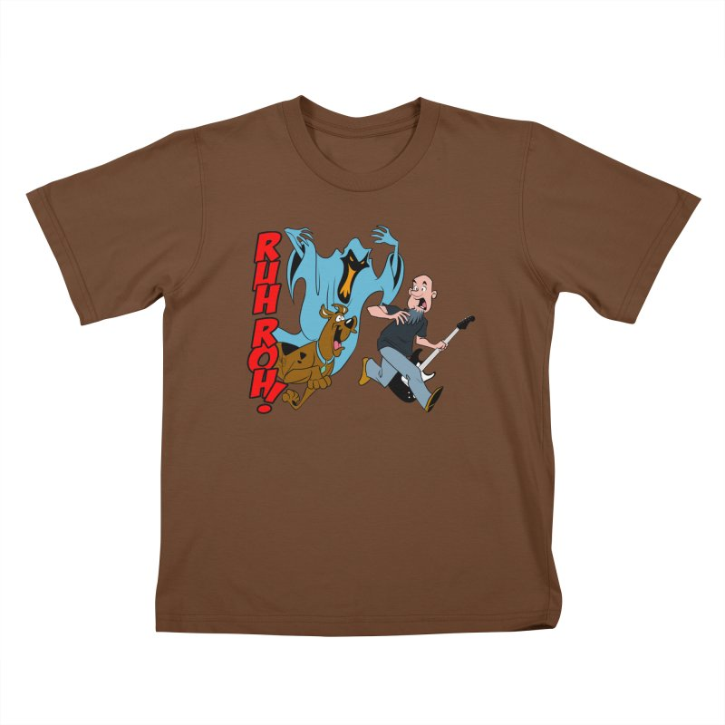Ruh Roh! Kids T-Shirt by Comedyrockgeek 's Artist Shop