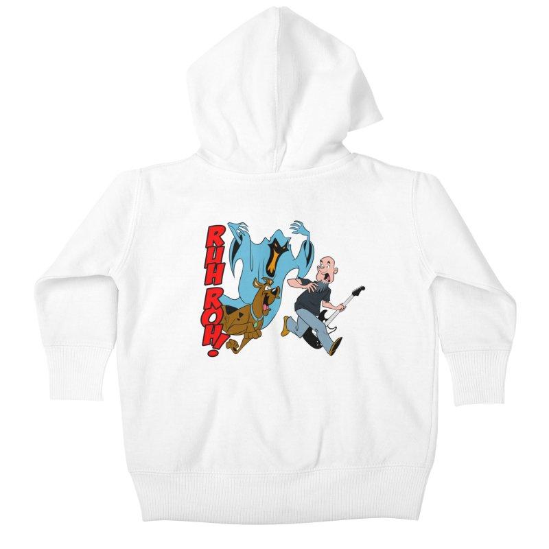 Ruh Roh! Kids Baby Zip-Up Hoody by Comedyrockgeek 's Artist Shop
