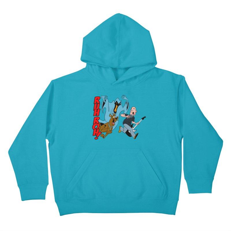 Ruh Roh! Kids Pullover Hoody by Comedyrockgeek 's Artist Shop