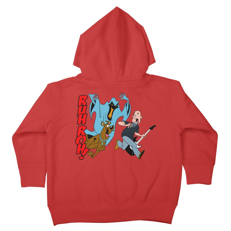 Ruh Roh! Kids Toddler Zip-Up Hoody by Comedyrockgeek 's Artist Shop