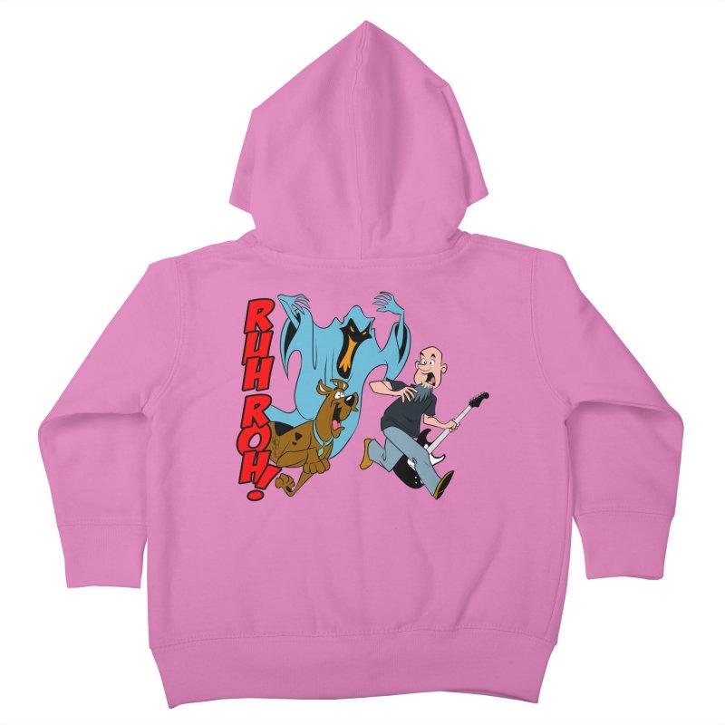 Ruh Roh! Kids Toddler Zip-Up Hoody by Comedyrockgeek 's Artist Shop
