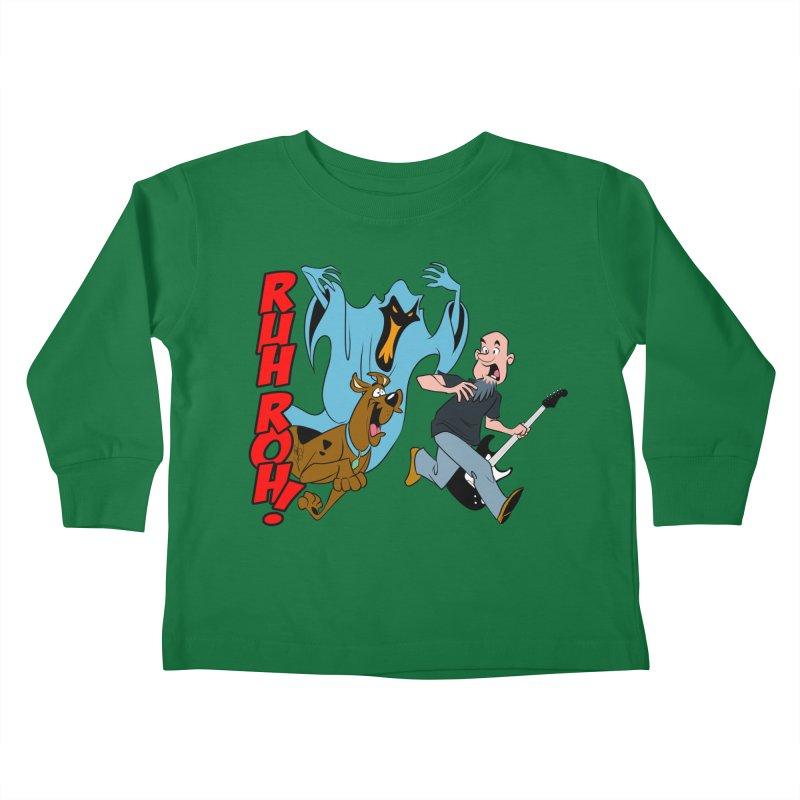 Ruh Roh! Kids Toddler Longsleeve T-Shirt by Comedyrockgeek 's Artist Shop