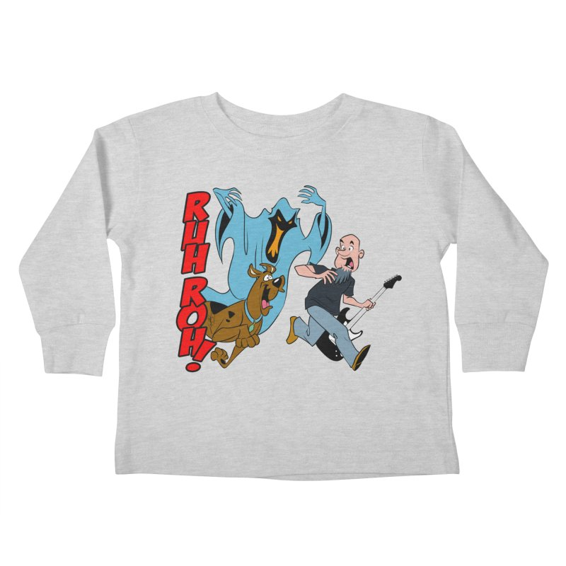 Ruh Roh! Kids Toddler Longsleeve T-Shirt by Comedyrockgeek 's Artist Shop