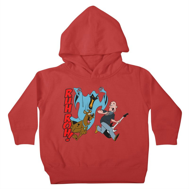 Ruh Roh! Kids Toddler Pullover Hoody by Comedyrockgeek 's Artist Shop