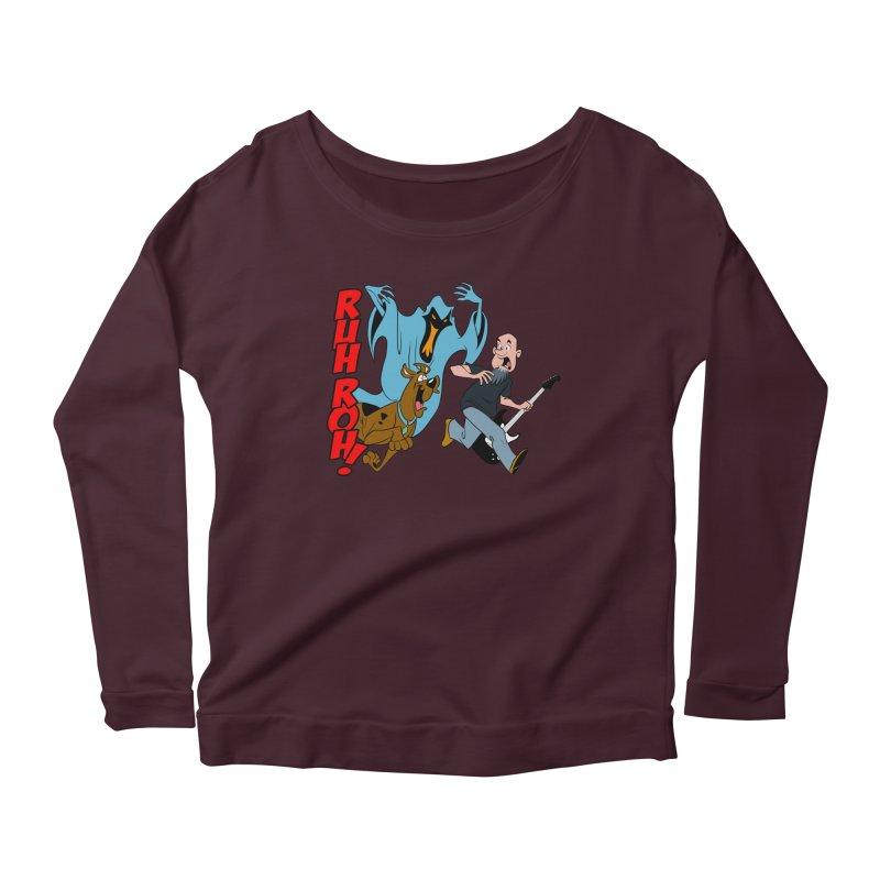 Ruh Roh! Women's Longsleeve T-Shirt by Comedyrockgeek 's Artist Shop