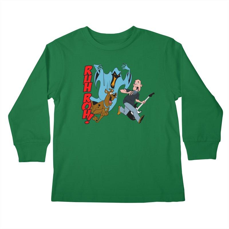 Ruh Roh! Kids Longsleeve T-Shirt by Comedyrockgeek 's Artist Shop