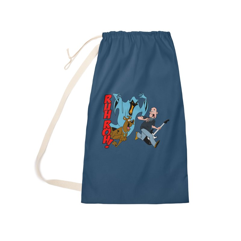Ruh Roh! Accessories Laundry Bag Bag by Comedyrockgeek 's Artist Shop