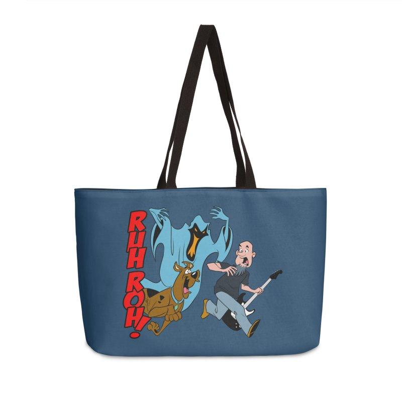 Ruh Roh! Accessories Weekender Bag Bag by Comedyrockgeek 's Artist Shop
