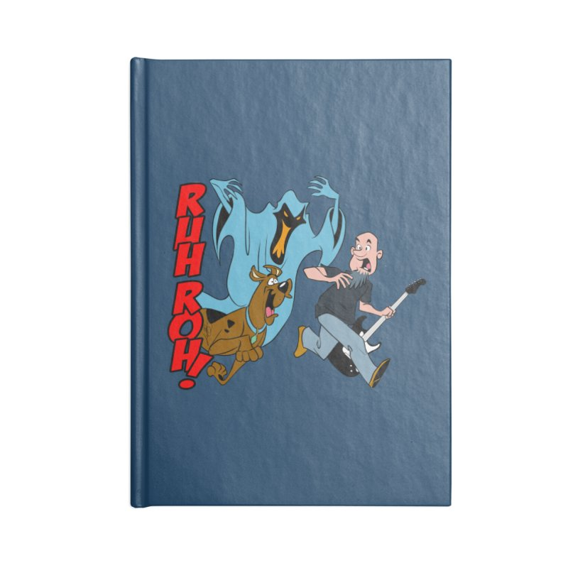 Ruh Roh! Accessories Lined Journal Notebook by Comedyrockgeek 's Artist Shop