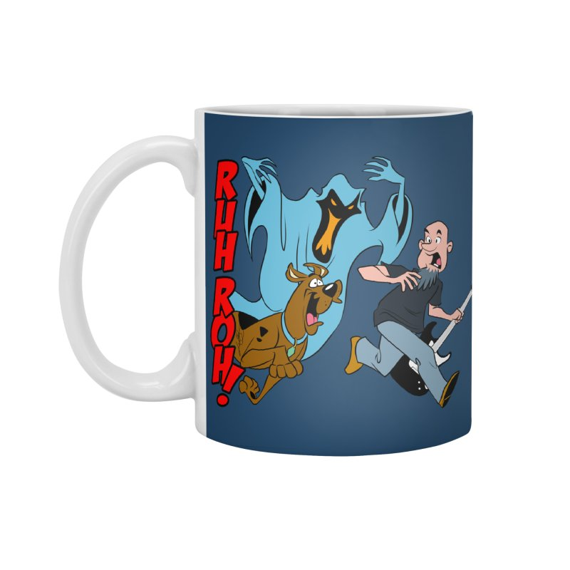 Ruh Roh! Accessories Standard Mug by Comedyrockgeek 's Artist Shop