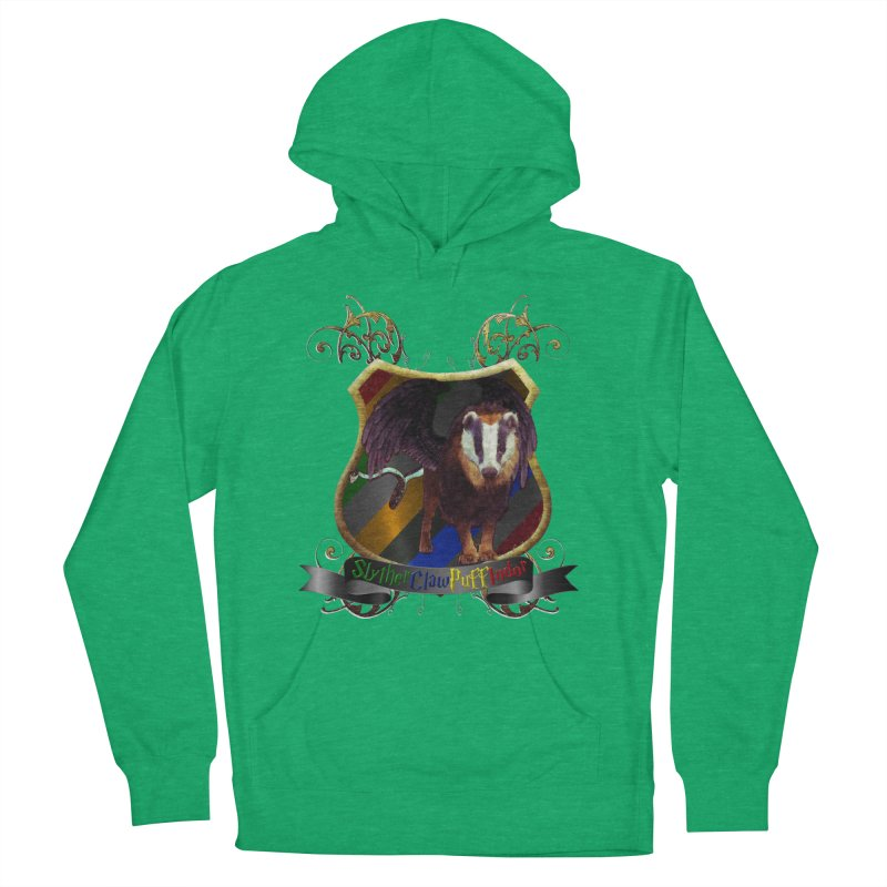 SlytherClawPuffIndor Women's French Terry Pullover Hoody by Comedyrockgeek 's Artist Shop