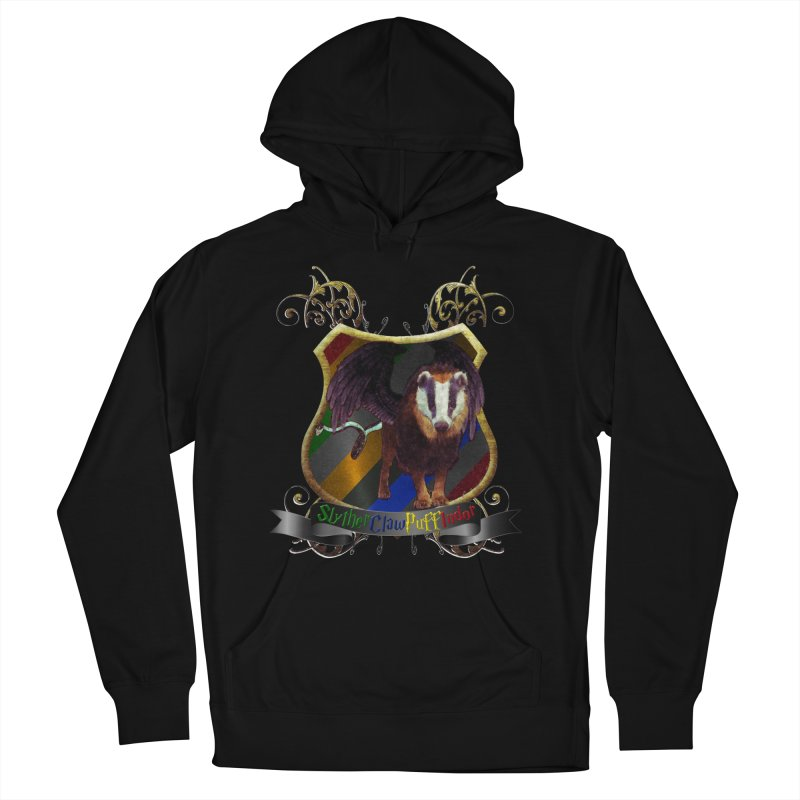 SlytherClawPuffIndor Men's French Terry Pullover Hoody by Comedyrockgeek 's Artist Shop