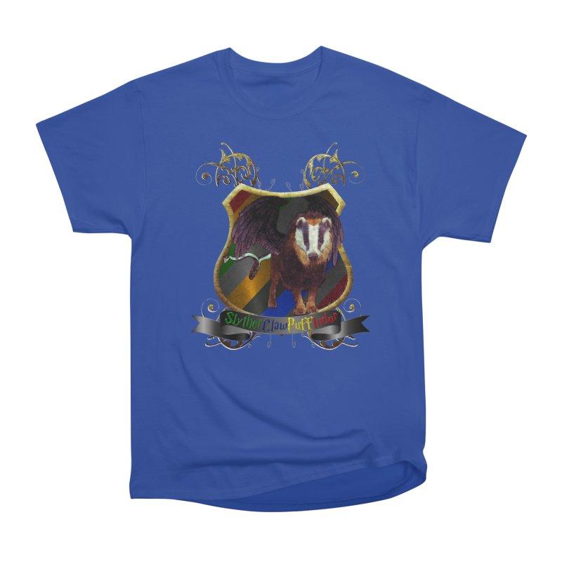 SlytherClawPuffIndor Men's Heavyweight T-Shirt by Comedyrockgeek 's Artist Shop
