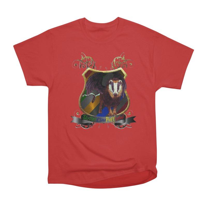 SlytherClawPuffIndor Women's Heavyweight Unisex T-Shirt by Comedyrockgeek 's Artist Shop