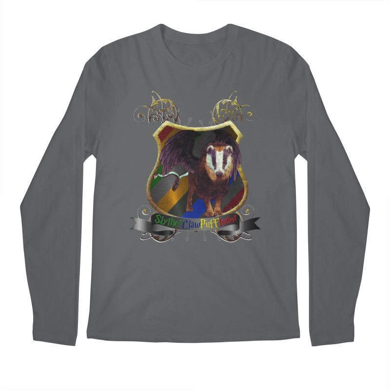 SlytherClawPuffIndor Men's Longsleeve T-Shirt by Comedyrockgeek 's Artist Shop