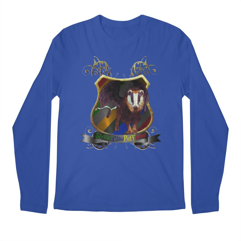 SlytherClawPuffIndor Men's Regular Longsleeve T-Shirt by Comedyrockgeek 's Artist Shop