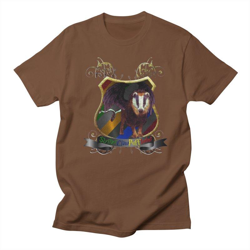 SlytherClawPuffIndor Men's T-Shirt by Comedyrockgeek 's Artist Shop